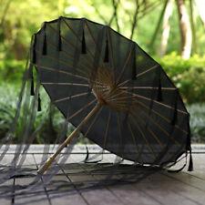 Silk Oil Paper Umbrellas Ancient Hanfu Cosplay Dance Wedding Parasol Decor Party