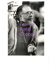 FRANCIS FORD COPPOLA GODFATHER GENUINE HAND-SIGNED AUTOGRAPH 8x10 PHOTO