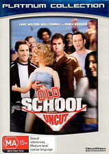 Old School - Comedy - Luke Wilson, Will Ferrell, Vince Vaugh - NEW DVD