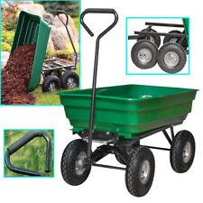 Gartenwagen Transportwagen Handwagen Bollerwagen kippbar Anhänger bis 300kg TOP