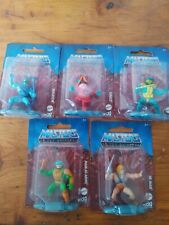 Masters Of The Universe Micro Collection Mattel Set Of 5 Mini Figures