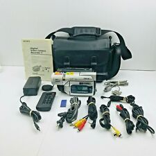 Sony Handycam Dcr-Trv520 Digital 8 Camcorder & Accessories Read On