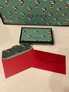 10 x Gucci Mickey Mouse 2020 Red Packets Envelopes New Year Limited (NO BOX)