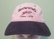 Browning Since 1878 Fishing Hat Cap Fitted
