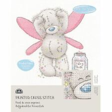 DMC Me to You Tatty Teddy Printed Cross Stitch Fabric Kit - Fairy Dust