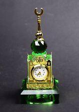 Crystal Cut LED Light Mecca Makkah Clock Tower Ramadan EID Islamic Gift & Box