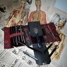 Civil War Era Surgical Folding Scalpel Medical Instrument Tool Set Kit German