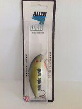 New ALLEN Lures CRANKBAIT 1-2' Diver USA Hand Painted Color Baby Bass D2R-05 NIP