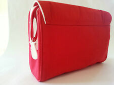 £1.99 TO CLEAR - CLARINS NEW MAKE-UP / BEAUTY BAG IN RED - £1.99 TO CLEAR