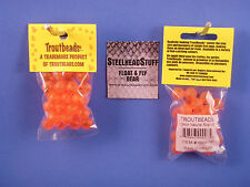 Troutbeads Natural Roe 10mm Trout  Egg Steelhead Salmon $2.50 US Combined Ship*