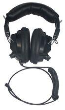 Noise Canceling Headphones Works W/ Uniden, Radio Shack Nascar Racing - Rde-1401