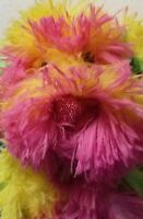 Fluffy Animated Dancing Puppy Dog Pink Yellow Green Plush Dog Sings HOLIDAY New