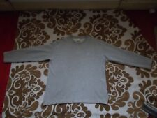 ladies college sweat shirt loose fitting A-line top size M light grey maternity