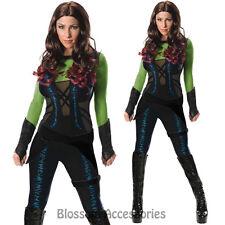 Cl247 Guardians of The Galaxy Gamora Womens Costume Hero Superhero Fancy Dress Large