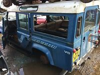 **BREAKING** Landrover Defender 110 5 Door V8 Alternator (1984) Blue