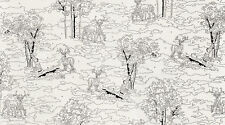 Alpine Dark White Birch Paint by Numbers by the yard 100% cotton print  26045 31