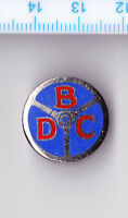 Vtg enamel BEDFORD DRIVERS CLUB buttonhole lapel badge Miller lorry truck pin