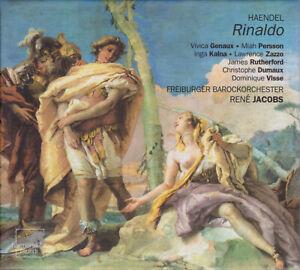 HAENDEL: RINALDO Genaux Persson Kalna Zazzo Rutherford Jacobs, 3 CDs, sehr gut
