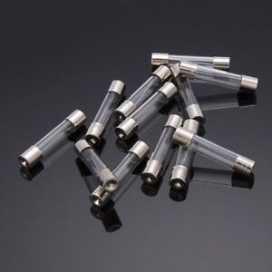 0.2-5A 6X30 mm assortment of fine fuses, device fuses, glass fuses