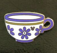 ☕ Alice in Wonderland Purple Teacup Pin - Mad Tea Party Unbirthday Completer Pin
