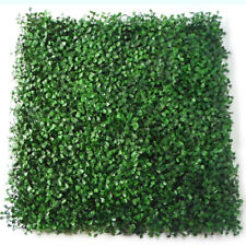 GREENLINE 12 PC Artificial Boxwood Mat Wall Hedge 20X20in