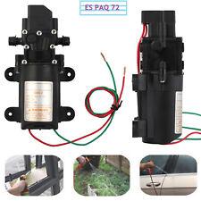 Autocebante Bomba de Agua Diafragma de Alta Presión Coche Barco 4LPM 12V 100PSI