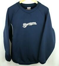 Milwuakee Brewers Blue Sweatshirt Size XL