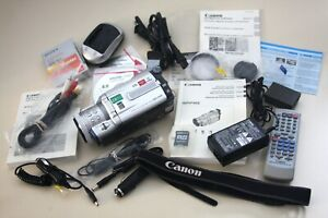 Canon Optura Xi DV camera kit, plus extras.