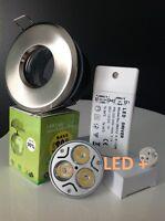 SPOT LED ENCASTRABLE INOX ETANCHE  SALLE DE BAIN  IP65 NEUF