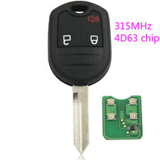 Remote Key fob for Ford Explorer F150 E150 Ranger 3 Button 315MHz with 4d63 chip