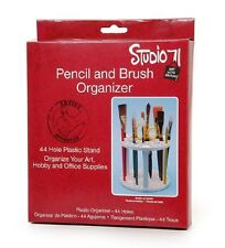 Paint Brush Stand 44 hole Studio 71 Pencil and Brush Stand Tool Holder fnt