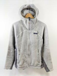 Patagonia Women'S R3 Hi-Loft Hoody Jacket White Sz M