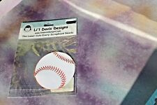 Li'l Davis Designs Laser Cut BASEBALL Cut Out Crafting Paper, NEW