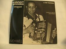 Fernest Arceneaux & The Thunders- Live + Well,  12'' vinyl, LP,  CH-7.114