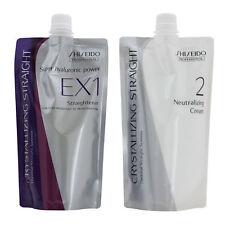 Shiseido Professional Crystallizing Straight EX Straightener Strong Healthy Hair