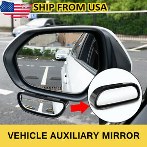 Universal Car Blind Spot Mirror Wide Angle Add On Rear Side View Mirror