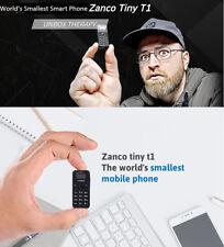 Zanco Tiny T1 World's Smallest Phone Bluetooth Voice Changer 14 Language Mobile