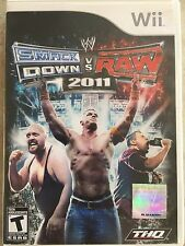 Smack Down vs Raw 2011 ( Nintendo Wii ), Complete w/Case & Manual