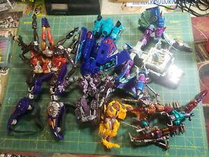 Transformers Lot 1990's Rampage Depthcharge Scavenger Transmetal Beast Wars