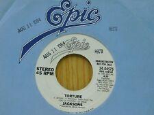 Jacksons soul DJ 45 Torture bw same song on Epic M-