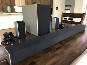 """VIZIO SB36512-F6   36"""" Dolby Atmos 5.1.2-Channel Soundbar System - Black"""