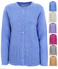 Unbranded Women's Acrylic Long Sleeve Button Jumpers & Cardigans