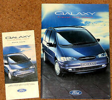 1995 FORD GALAXY Sales Brochure & Price List - Aspen GLX Ghia