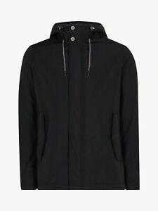 Ted Baker Kinvara Short Hooded Jacket Black Ted Size 5 (UK Size: XL) RRP £259