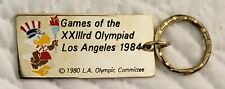 1984 OLYMPICS Keychain Los Angeles Key Ring - Games of the XXIII Olympiad LA84