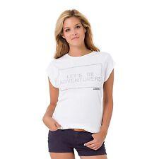 GAASTRA tshirt  Top bianco e argento Donna Tg. L €49 - prezzo outlet 60% sconto