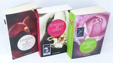 E. L. JAMES Shades Of Grey Geheimes Verlangen Gefährliche Liebe Lust  3x Buch