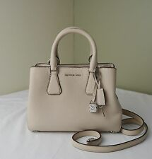 Michael Kors Ballet Pale Pink Pebble Leather Camille Small Satchel