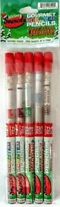 Smencils Gourmet Scented Pencils Holiday New Recycled Newspaper 5 Set 5pk Gift