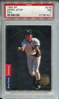 1993 SP Foil Baseball 279 Derek Jeter Rookie Card RC Graded PSA Nr MINT 7 '93